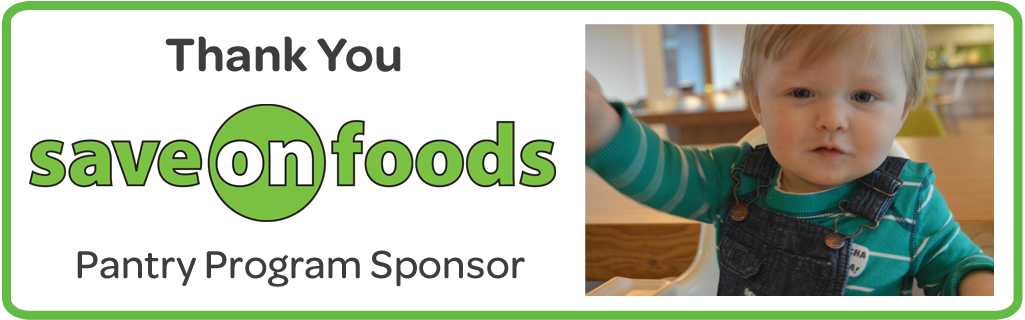 Save on Foods - Pantry Program Sponsor