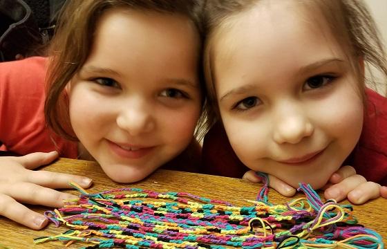 Aliya and Tiana