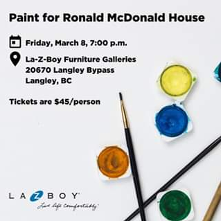 Paint for Ronald McDonald House