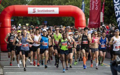 Scotiabank 5K and Half-Marathon