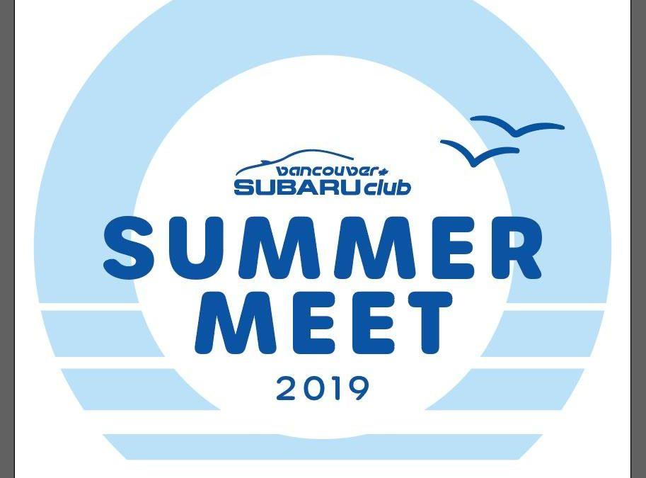 Vancouver Subaru Club Summer Meet